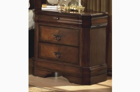 Sheridan Burnished Cherry Nightstand