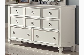 Tamarack White Dresser