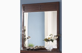 Kensington Burnished Cherry Mirror