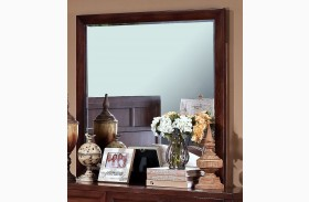Ridgecrest Distressed Walnut Mirror