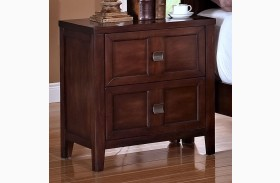 Ridgecrest Distressed Walnut Nightstand