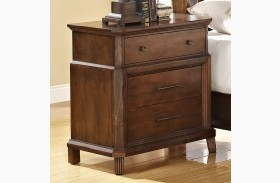Clark's Crossing African Honey Nightstand