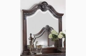 Elsa Mahogany Mirror
