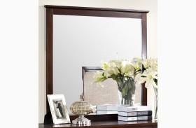 Serenity African Chestnut Mirror
