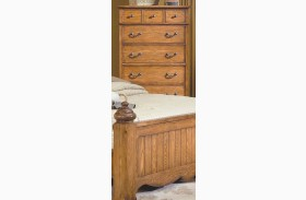 Hailey Toffee 7 Drawer Chest