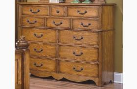 Hailey Toffee 12 Drawer Dresser