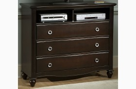 Victoria Espresso Media Chest