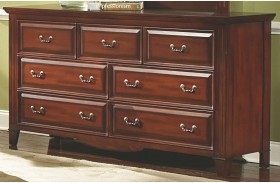 Drayton Hall Bordeaux 7 Drawer Dresser