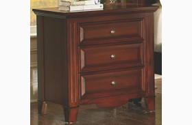 Drayton Hall Bordeaux 3 Drawer Nightstand