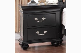 Jaquelyn Black Nightstand