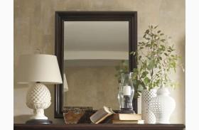 British Colonial Landscape Mirror
