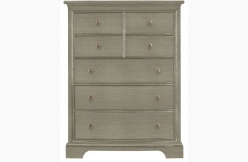 Transitional Estonian Grey Drawer Chest