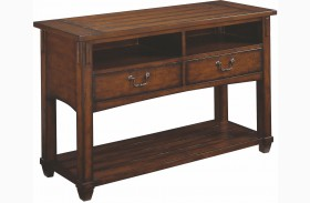 Tacoma Medium Brown Console Table