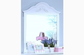 Megan Youth White Mirror