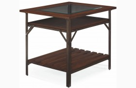 Mercantile Whiskey Rectangular End Table