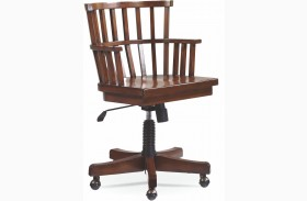 Mercantile Whiskey Desk Chair