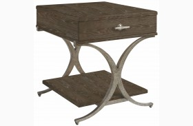 Coastal Living Resort Channel Marker Windward Dune End Table