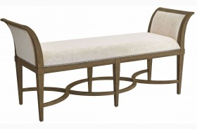 Coastal Living Resort Deck Surfside Bed End Bench