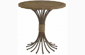 Coastal Living Resort Deck Eddy's Landing Lamp Table