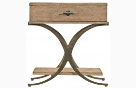 Coastal Living Resort Weathered Pier Windward Dune End Table