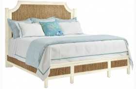 Coastal Living Resort Sailcloth Water Meadow Queen Woven Bed