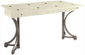 Coastal Living Resort Sail Cloth Curl Tide Flip Top Table