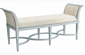 Coastal Living Resort Sea Salt Surfside Bed End Bench