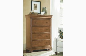 New Lou Cognac Drawer Chest