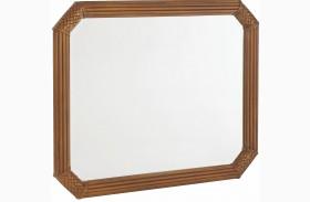 Grand Isle Amber Landscape Mirror