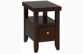 Marlon Wenge Chairside Table
