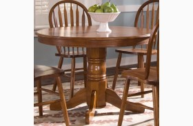 Nostalgia Round Pedestal Table