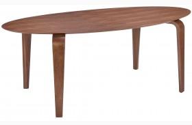 Virginia Key Walnut Oval Dining Table