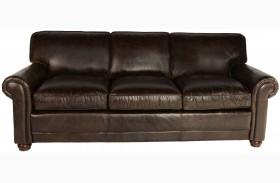 Genesis Brompton Chocolate Leather Sofa