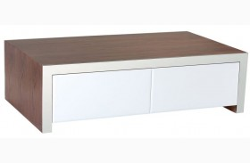 Lauderdale High Gloss White Coffee Table