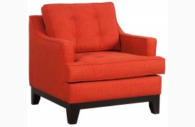 Chicago Burnt Orange Arm Chair