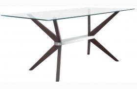 Victory Dark Walnut Rectangular Dining Table