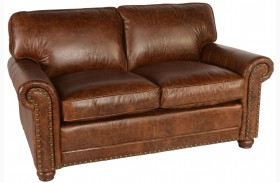 Genesis Coco Brompton Leather Loveseat