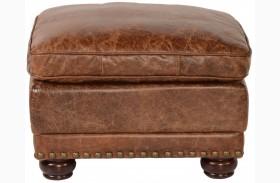 Genesis Coco Brompton Leather Ottoman