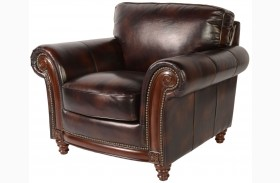 Century Toberlone Leather Chair