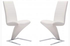 Herron White Dining Chair Set of 2