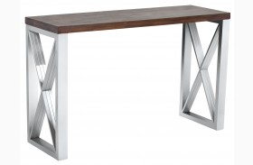 Catalan Wood Console Table