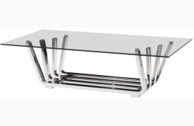 Fan Chrome Coffee Table