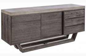 Langley Coffee Bean Sideboard
