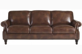 Bentley Rustic Sauvage Leather Sofa