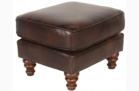 Beaufort Toberlone Leather Ottoman