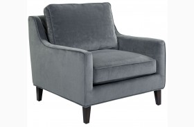Hanover Granite Fabric Armchair