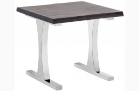 Marquez Gotham Grey End Table