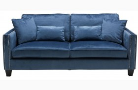 Cathedral Blue Ink Sofa