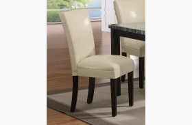 Carter Parson Cream Side Chair Set of 2