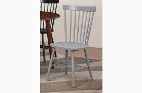 Emmett Grey Dining Chair Set of 2